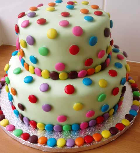 Cake Decorating Ideas With Smarties : Pin Smartie Birthday Cake Lets Cook At Home Cake on Pinterest
