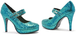 The wonder of a sparkly shoe…  4452b7a8da94